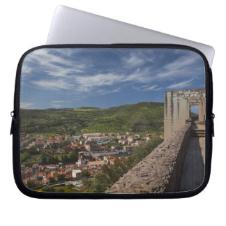 Italy, Sardinia, Bosa. Town view from Castello Computer Sleeves