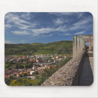 Italy, Sardinia, Bosa. Town view from Castello Mouse Pad