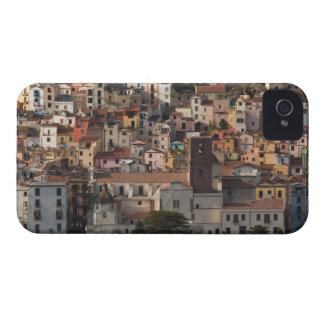 Italy, Sardinia, Bosa. Town view with Castello Case-Mate iPhone 4 Case