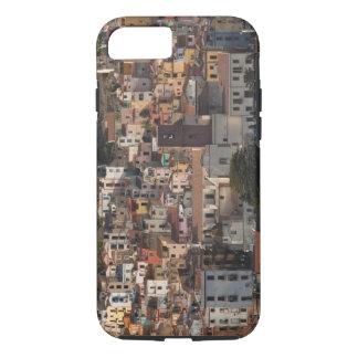Italy, Sardinia, Bosa. Town view with Castello iPhone 8/7 Case