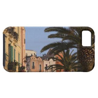 Italy, Sardinia, Cagliari. Buildings and palms iPhone SE/5/5s Case