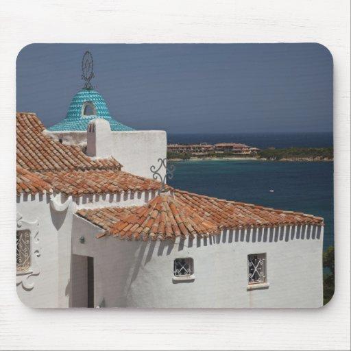 Italy, Sardinia, Porto Cervo. Chiesa di Stella Mousepad