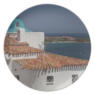 Italy, Sardinia, Porto Cervo. Chiesa di Stella Dinner Plates