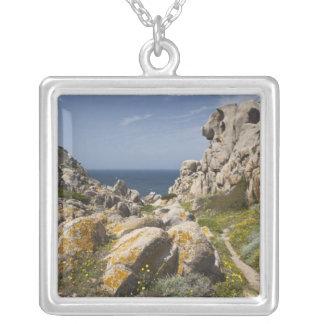 Italy, Sardinia, Santa Teresa Gallura. Capo 2 Silver Plated Necklace