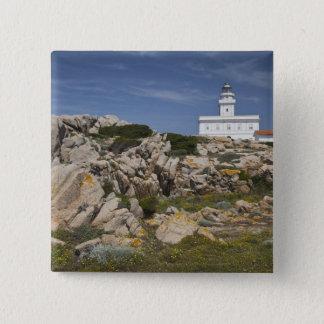 Italy, Sardinia, Santa Teresa Gallura. Capo Pinback Button