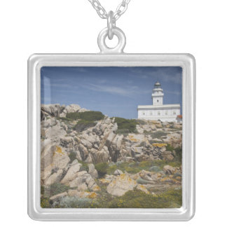 Italy, Sardinia, Santa Teresa Gallura. Capo Square Pendant Necklace