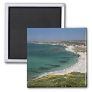 Italy, Sardinia, Tharros. View from the Magnet