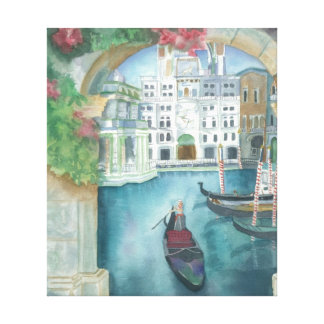 """""""ITALY"""" Scene Wrapped Canvas"""