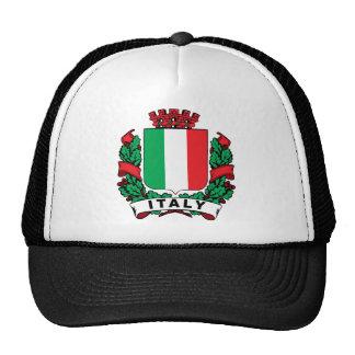 Italy Shield Trucker Hats