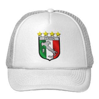 italy shield Italy flag italia map Hat