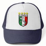 italy shield Italy flag italia map Trucker Hat