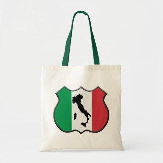 Italy Shield Map Bag