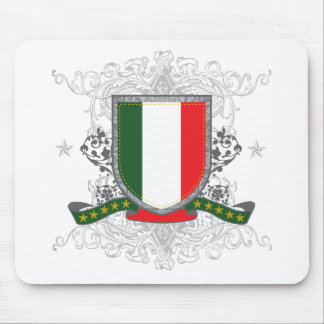 Italy Shield Mouse Pad