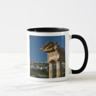Italy, Sicily, Agrigento, La Valle dei Templi, 2 Mug