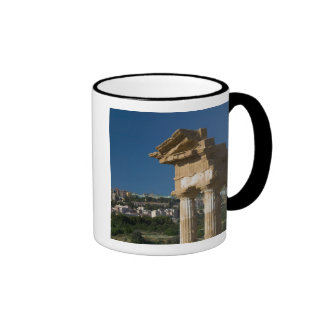 Italy, Sicily, Agrigento, La Valle dei Templi, 2 Ringer Coffee Mug