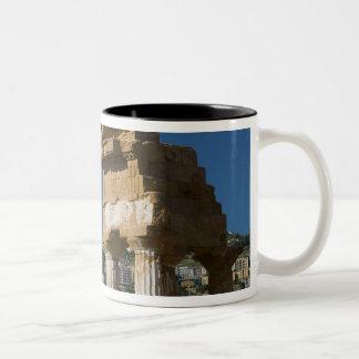 Italy, Sicily, Agrigento, La Valle dei Templi, 2 Coffee Mug