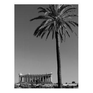 Italy, Sicily, Agrigento, La Valle dei Templi, 3 Postcard
