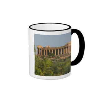 Italy, Sicily, Agrigento, La Valle dei Templi, 4 Mugs