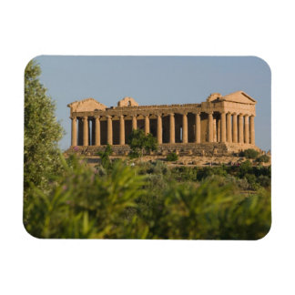 Italy, Sicily, Agrigento, La Valle dei Templi, 4 Rectangular Photo Magnet