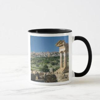 Italy, Sicily, Agrigento, La Valle dei Templi, Mug