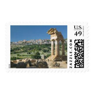 Italy, Sicily, Agrigento, La Valle dei Templi, Postage