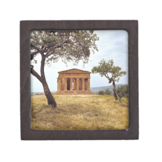 Italy, Sicily, Agrigento. The ruins of the 2 Gift Box