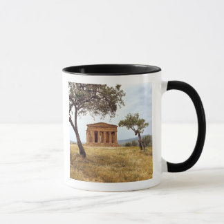 Italy, Sicily, Agrigento. The ruins of the 2 Mug