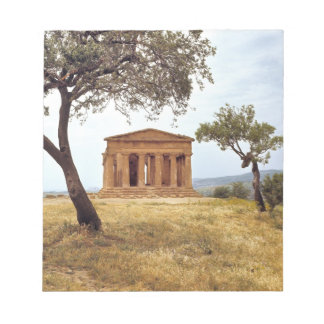 Italy, Sicily, Agrigento. The ruins of the 2 Memo Notepads