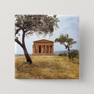 Italy, Sicily, Agrigento. The ruins of the 2 Pinback Button