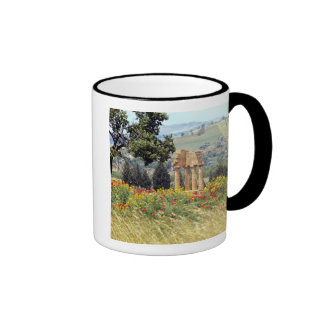 Italy, Sicily, Agrigento. The ruins of the Ringer Coffee Mug