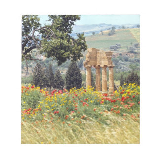 Italy, Sicily, Agrigento. The ruins of the Memo Pad