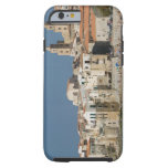 Italy, Sicily, Cefalu, Town View with Duomo from Tough iPhone 6 Case