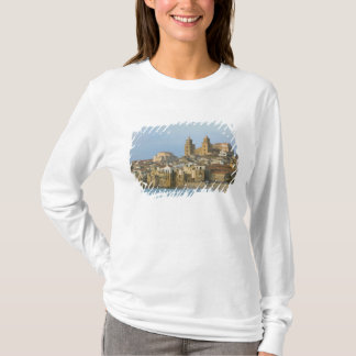 Italy, Sicily, Cefalu, View with Duomo from 2 T-Shirt