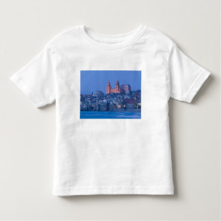 Italy, Sicily, Cefalu, View with Duomo from Toddler T-shirt