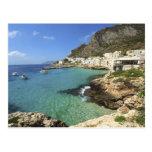 Italy, Sicily, Egadi Islands, Levanzo, Postcard