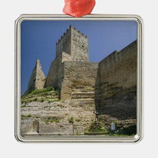 Italy, Sicily, Enna, Calascibetta, Castello di Metal Ornament
