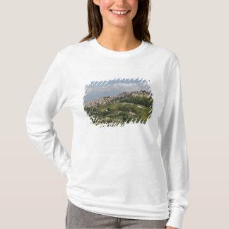 Italy, Sicily, Enna, Calascibetta, Morning View T-Shirt