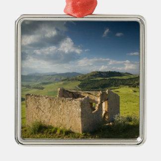 Italy, Sicily, Enna, Pergusa, Old Farmhouse Christmas Ornaments