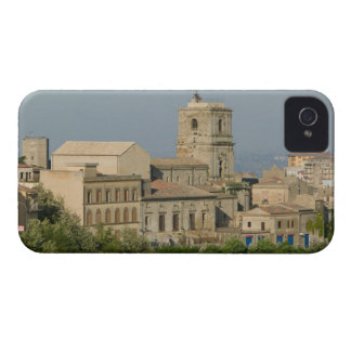 Italy, Sicily, Enna, Town View from Rocca di 2 iPhone 4 Case
