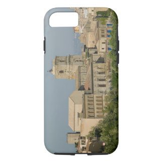 Italy, Sicily, Enna, Town View from Rocca di 2 iPhone 7 Case