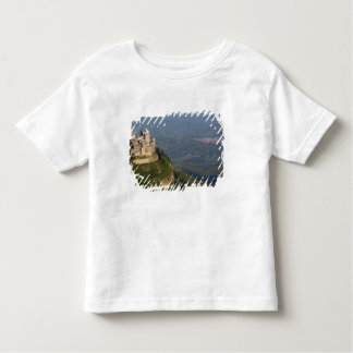 Italy, Sicily, Enna, Town View from Rocca di Toddler T-shirt