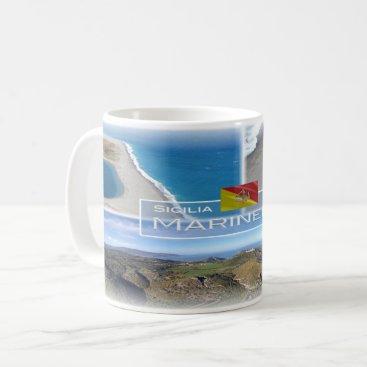 Beach Themed Italy - Sicily - Marinello Nature Reserve - Coffee Mug