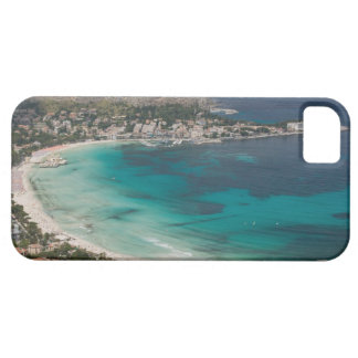 Italy, Sicily, Mondello, View of the beach from iPhone SE/5/5s Case