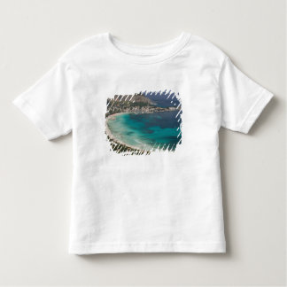 Italy, Sicily, Mondello, View of the beach from Toddler T-shirt