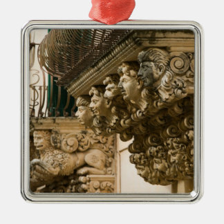 ITALY, Sicily, NOTO: Finest Baroque Town in Metal Ornament