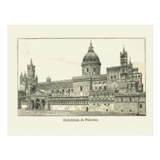 Italy, Sicily, Palermo Cathedral Postcard