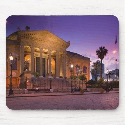Italy, Sicily, Palermo, Teatro Massimo Opera Mouse Pad