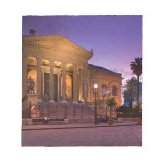 Italy, Sicily, Palermo, Teatro Massimo Opera Notepads