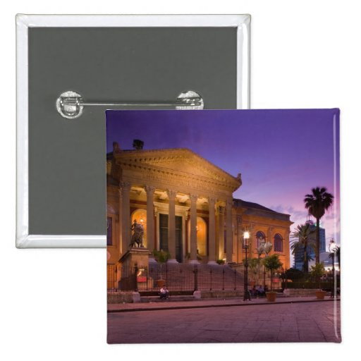 Italy, Sicily, Palermo, Teatro Massimo Opera Pins
