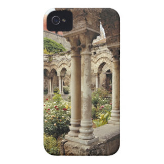 Italy, Sicily, Palermo. The cloisters survive as iPhone 4 Case-Mate Cases